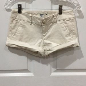 American Eagle Outfitters Cream Shorts